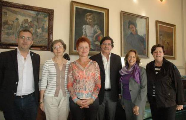 IIEP Delegation & the Minister of Education in Argentina