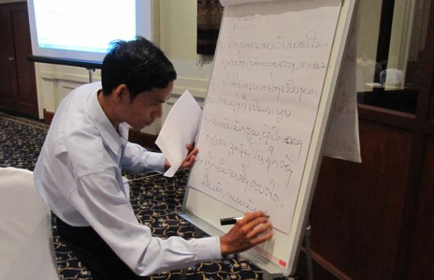 Development of a teacher code of conduct in Lao PDR