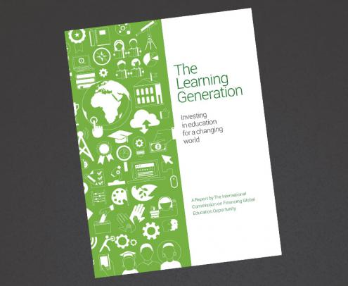 The Education Commission report cover - launch 18th september