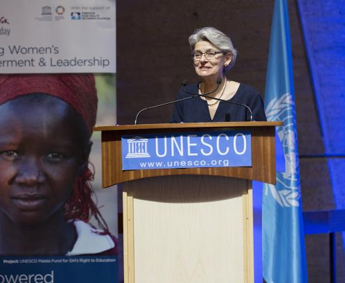 """Opening of the High Level Conference on """"Fostering Womens' empowerment and leadership""""."""